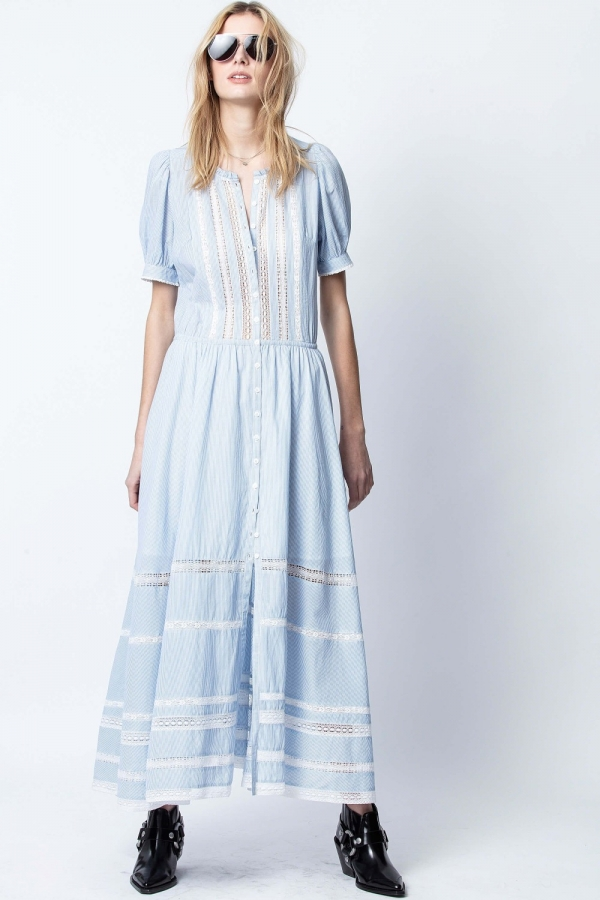 REGARD COTON RAYE DRESS